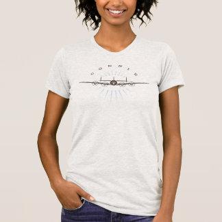 T-shirt de Connie de couleur claire de