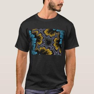 T-shirt de corail bleu et orange