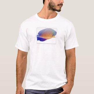 T-shirt de corail de scalaire de beauté