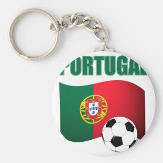 T-shirt de coupe du monde du Portugal Porte-clé Rond
