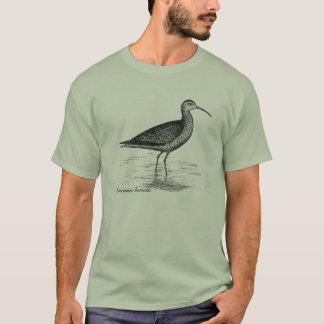 T-shirt de courlis cendré esquimau