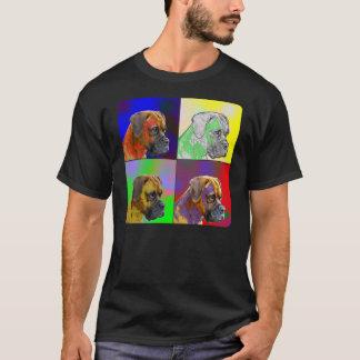 T-shirt de coutume de boxeur