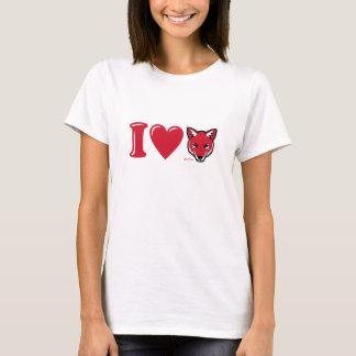"T-shirt de coyotes de coeur de Roswell ""je"""