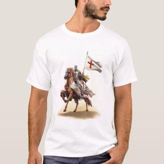 T-shirt de croix de Jérusalem de croisé de