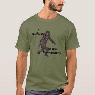 T-shirt de croyance de Sasquatch