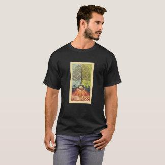 T-shirt de cru de progrès