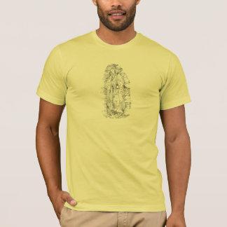 T-shirt de cru de Virgen De Guadalupe