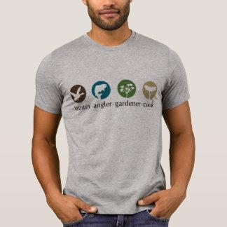 T-shirt de cuisinier de jardinier de pêcheur à la