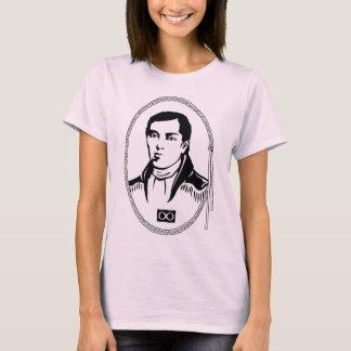 T-shirt de Cuthbert Grant Metis de chemises de