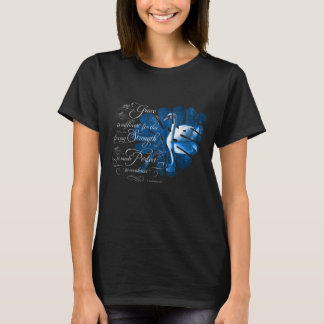 T-shirt de cygne muet de grâce de vers de bible
