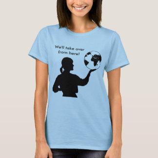 T-shirt de dames