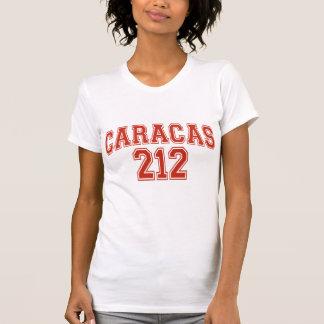 T-shirt de dames de Caracas 212 petit