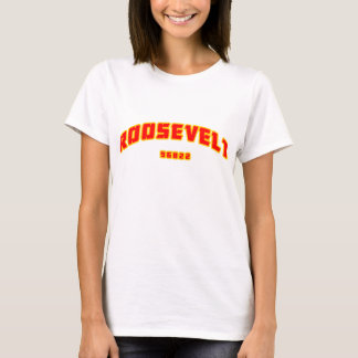 T-shirt de dames de Roosevelt Rough Riders