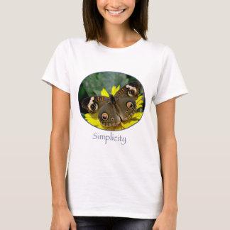 T-shirt de dames de simplicité