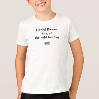 T-shirt de Daniel Boone de la jeunesse
