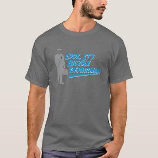 T-shirt de dépanneur de bicyclette