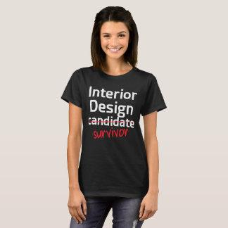 T-shirt de diplôme universitaire de survivant de