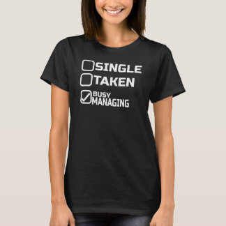 T-shirt de directeur