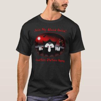 T-shirt de donation de Kilroy de vampire