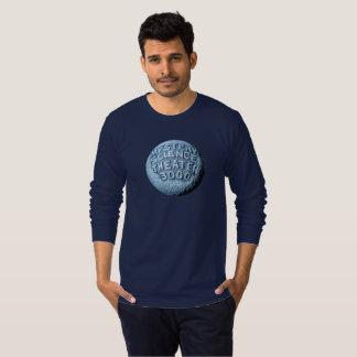 T-shirt de douille de lune de MST3K long (marine)