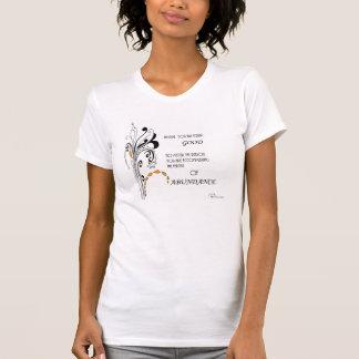 T-shirt de douille de short du coton des femmes