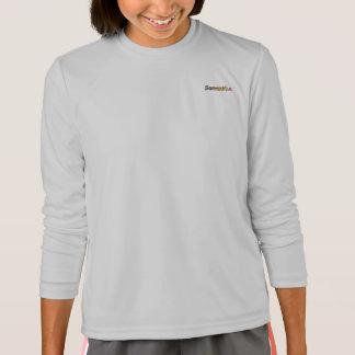 T-shirt de douille de Sport-Tek de Samantha long