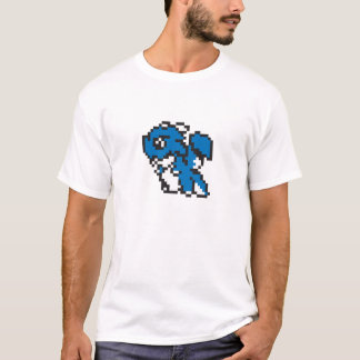 T-shirt de dragon de pixel