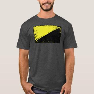 T-shirt de drapeau d'Anarcho-capitaliste