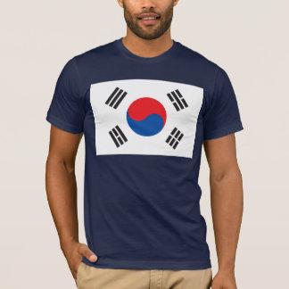 T-shirt de drapeau de la Corée du Sud