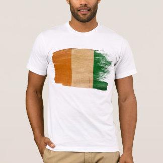 T-shirt de drapeau de la Côte d'Ivoire