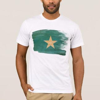 T-shirt de drapeau de la Somalie