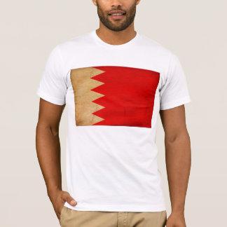 T-shirt de drapeau du Bahrain