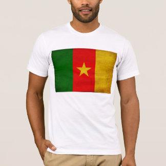 T-shirt de drapeau du Cameroun