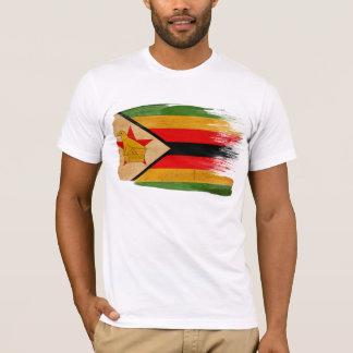 T-shirt de drapeau du Zimbabwe
