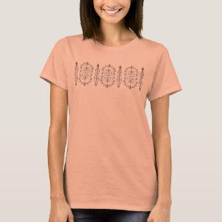 T-shirt de dulcimer de la montagne des femmes
