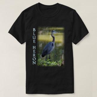 T-shirt de faune de héron de grand bleu
