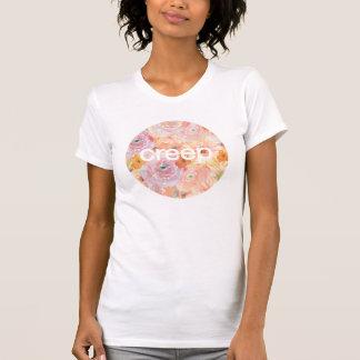 T-shirt de féministe de fluage