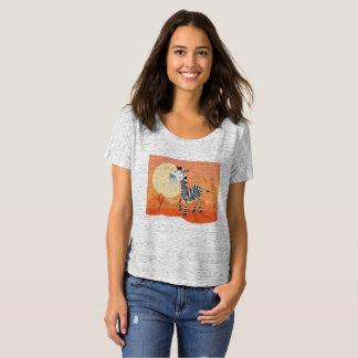 T-shirt de femme avec le thème de l'Afrique
