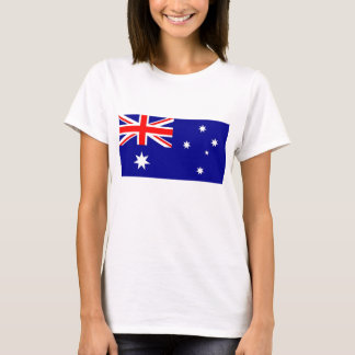 T-shirt de femmes avec le drapeau de l'Australie