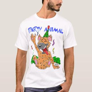 T-shirt de fêtard d'hyène