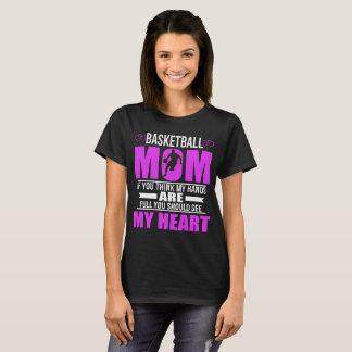 T-shirt de fête des mères de coeur de mamans de