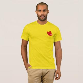 T-shirt de feuille d'érable du Canada