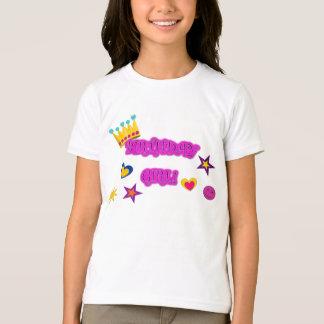 """T-shirt de """"fille d'anniversaire"""" de filles"""