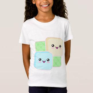 T-shirt de filles de Kawaii Mochi