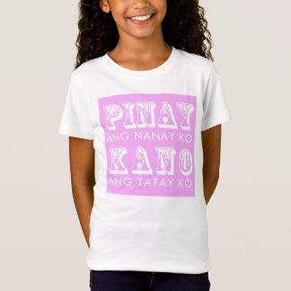 T-shirt de filles de Pinay-Kano