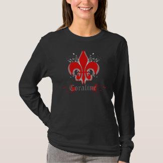 T-shirt de Fleur de Coraline