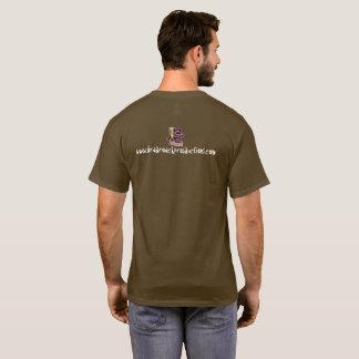 T-shirt de fonctionnaire de productions de gardon