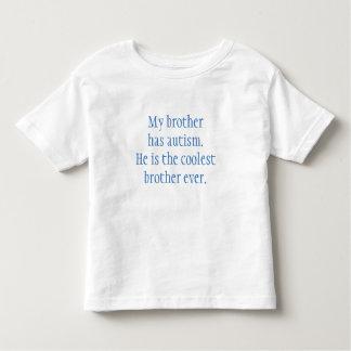 T-shirt de frère d'autisme