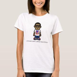 T-shirt de garçon du Jersey de style de Milo de