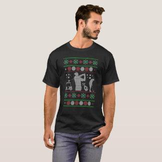T-shirt de golf de Noël